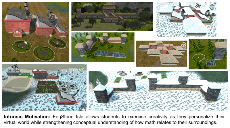 FogStone Isle provides intrinsic motivation in math learning